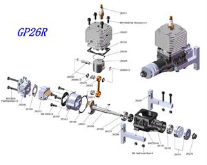 CRRC Gas Engine Parts