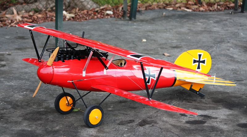 Aircraft Transportation German Albatross Fighter Plane From Wwi At Rhinebeck Ny